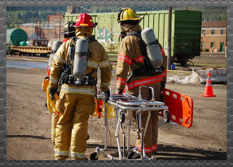 How firefighters handle HAZMAT incidents